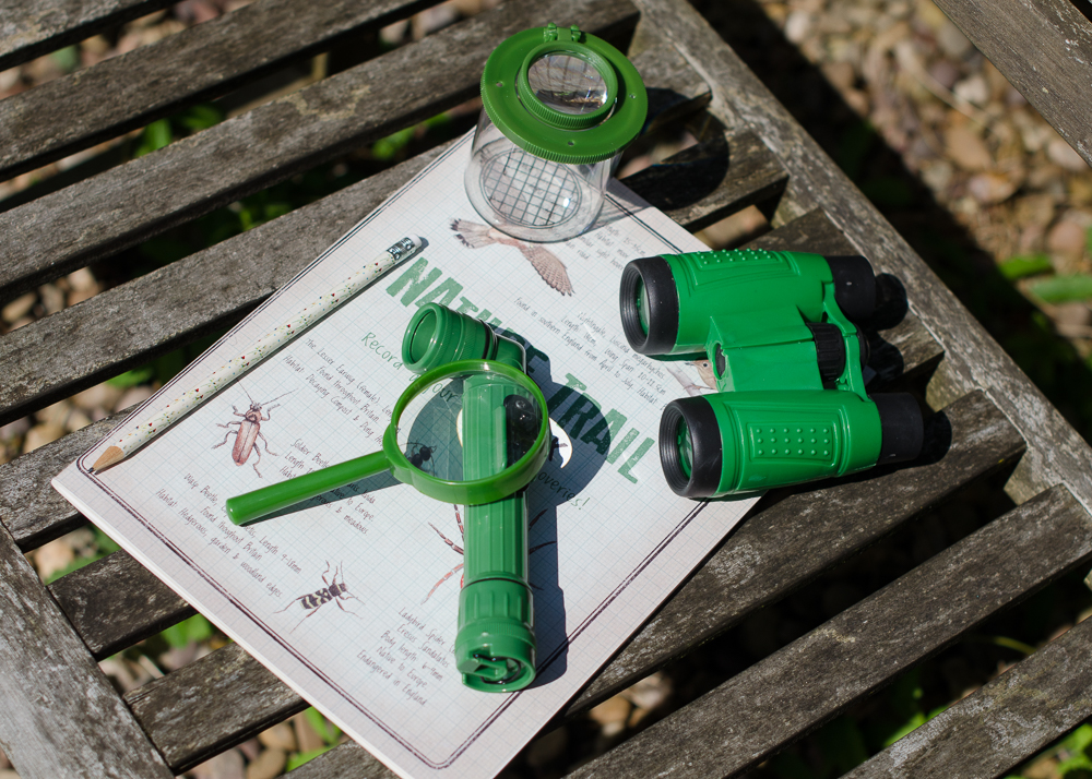 wildlife hunt kit for family days out