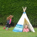 big game hunters outdoor play aztec wigwam