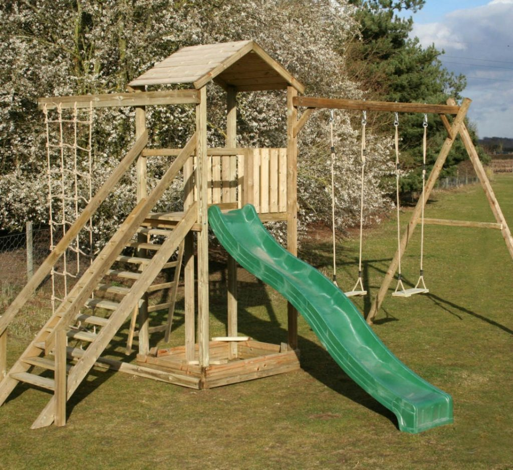 big game hunters outdoor play monmouth climbing frame