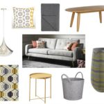 fishpools living room mood board