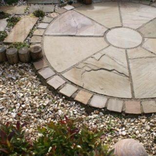 easypave circular patio