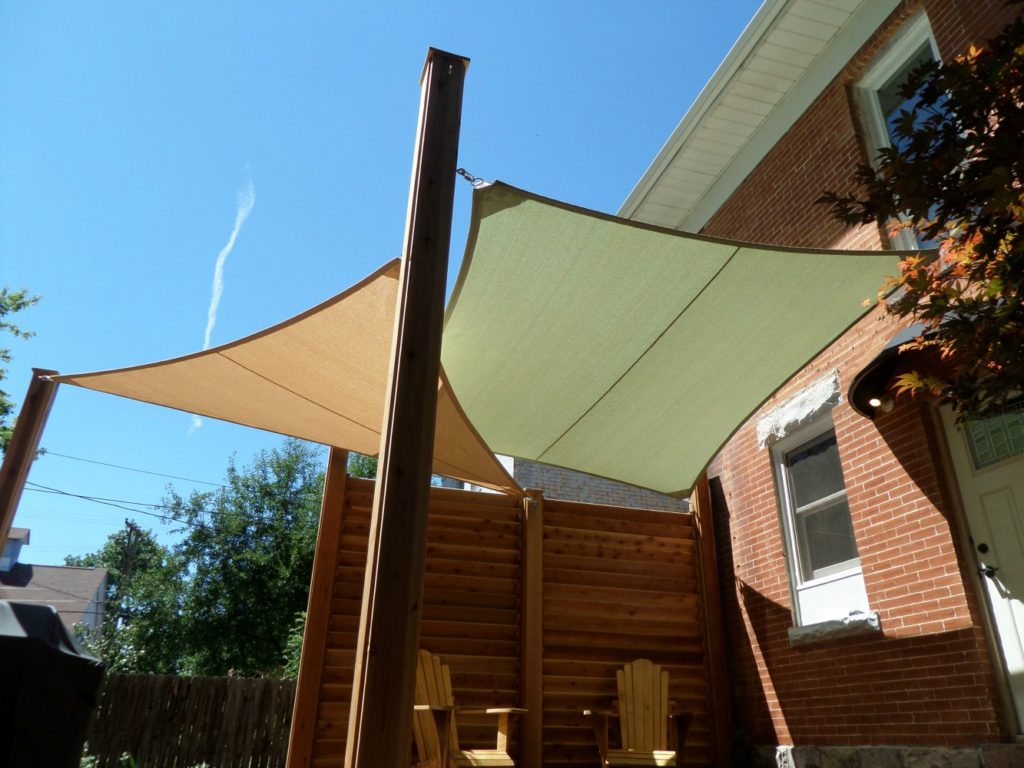 How to make the most of your patio space growing family for Colorado shade sail