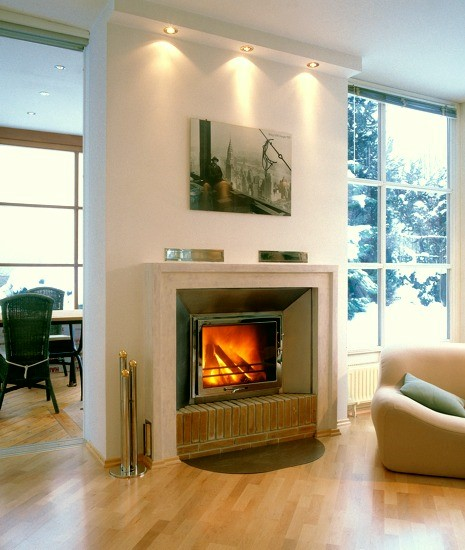 brighten up your home for autumn with a wood burner