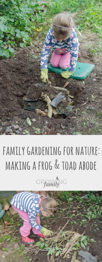 Give nature a home in your garden with this easy guide to making a frog and toad habitat - perfect for a family nature activity.