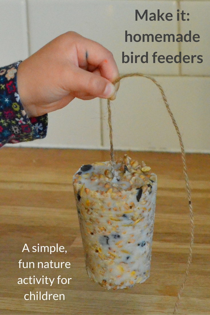 Homemade bird feeders - Growing Family