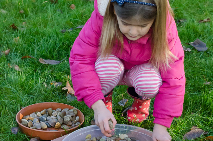 Giving nature a home in our garden: making a bird bath
