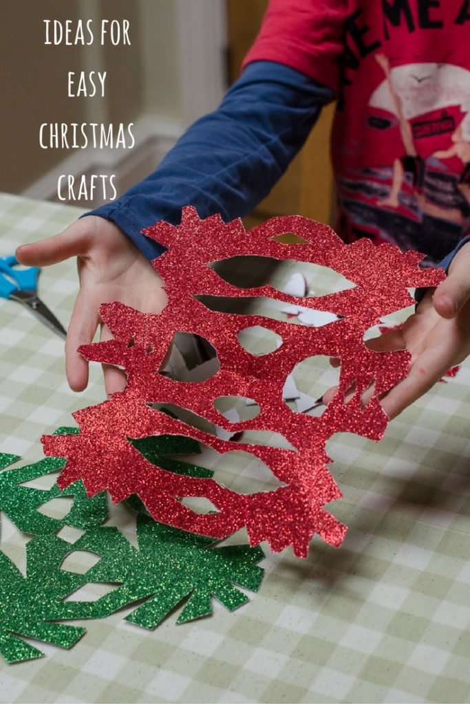 ideas for easy christmas crafts to make with the kids
