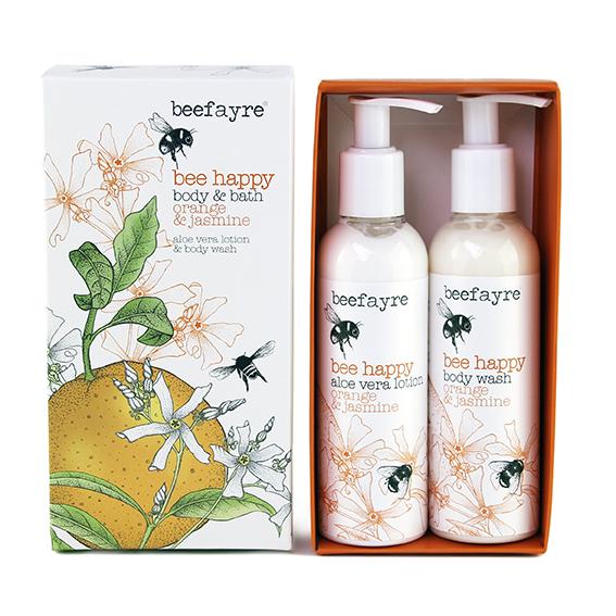Beefayre Bee Happy Body & Bath Set (web)