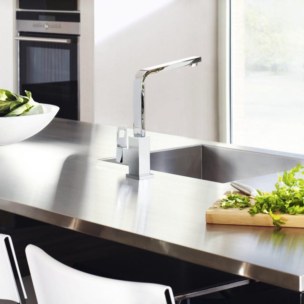 kitchen update ideas - install new taps