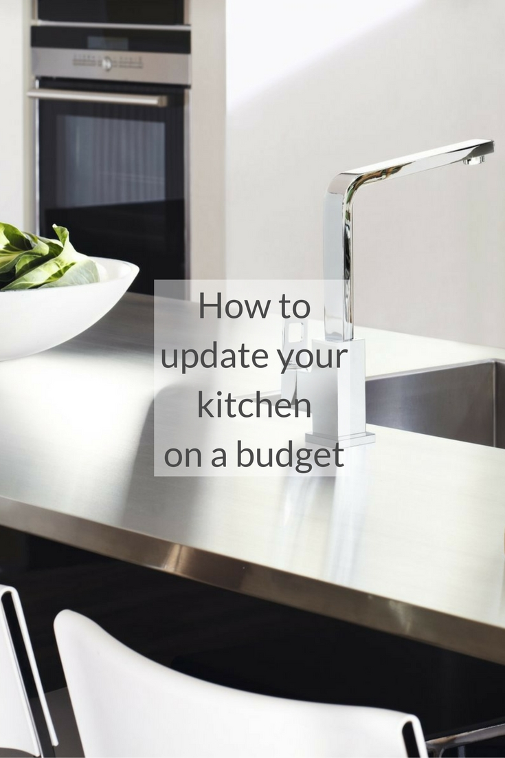 Top tips for a kitchen update growing family for Update my kitchen on a budget