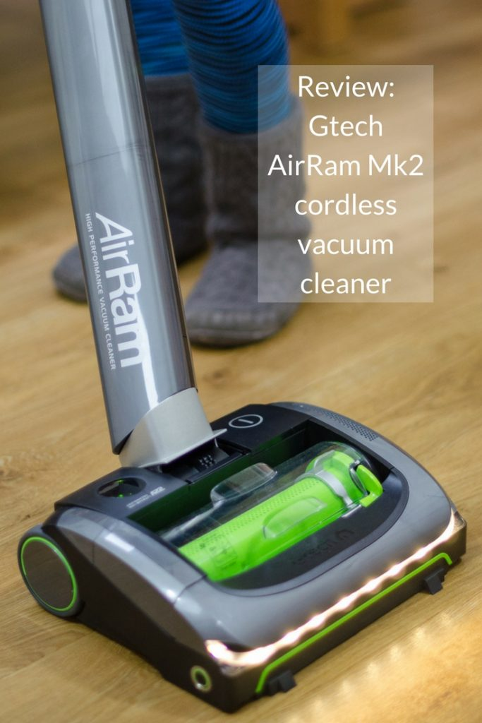 Reviewing the new Gtech AirRam Mk2 vacuum cleaner. This cordless, lightweight model claims to take the hassle out of vacuuming - check out how it performed!