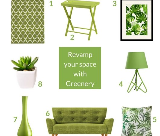 Revamp your space with Greenery: pantone colour of the year 2017