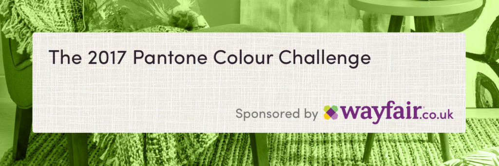 Wayfair pantone colour challenge sponsored