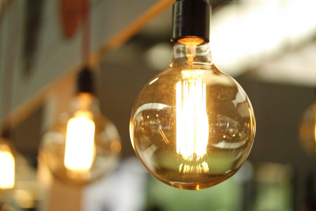 kitchen update ideas - change the lighting