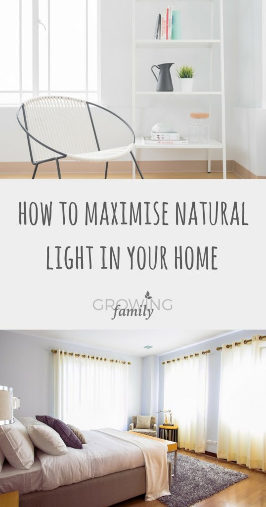 Looking for ways to maximise the natural light in your home? Check out these simple tips and tricks for making the most of natural light in every room.