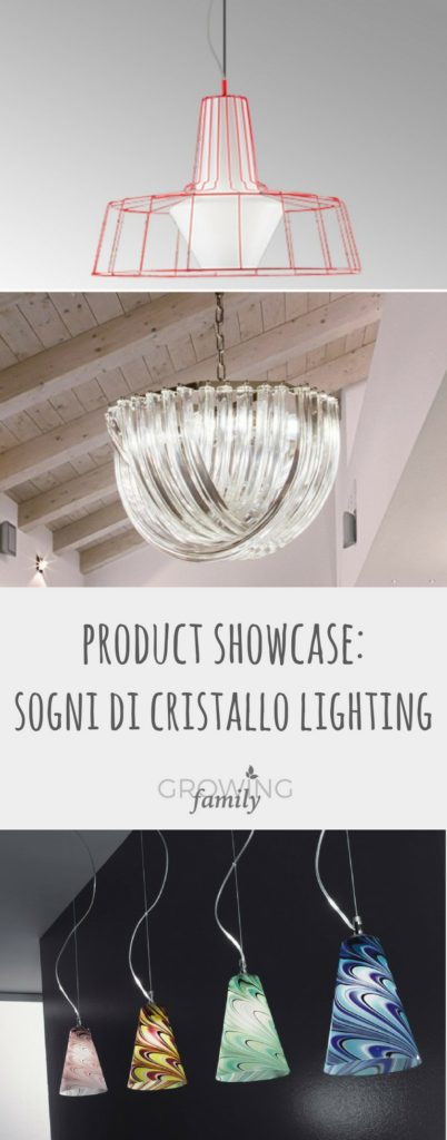 Exploring the Sogni Di Cristallo lighting range, all handmade using traditional techniques and available online for worldwide delivery.