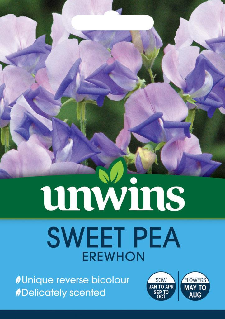 Unwins Sweet Pea Erewhon