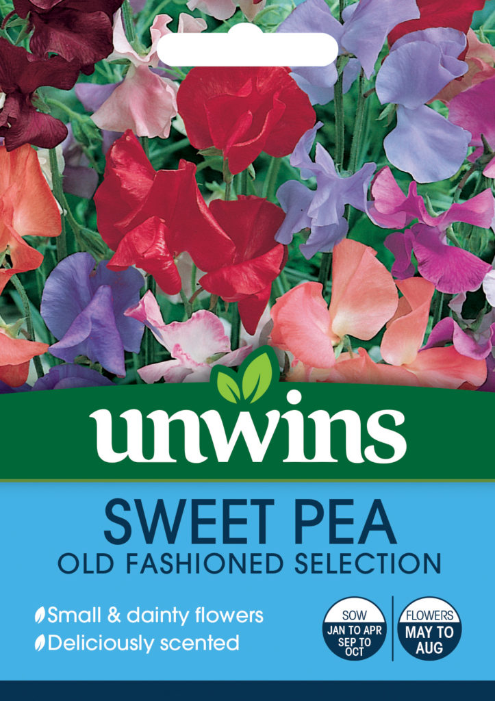 Unwins Sweet Pea Old Fashioned Selection