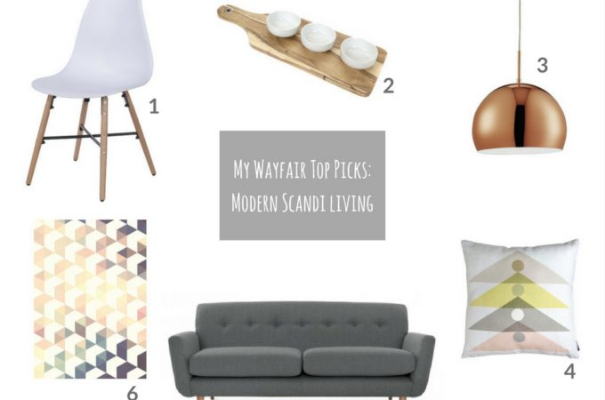 Modern Scandinavian living: my top Wayfair picks