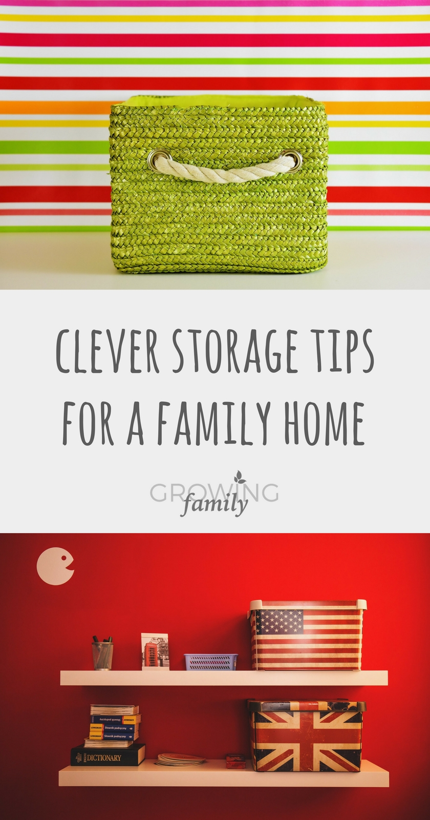 Using clever storage for a better smarter family home for Family home storage