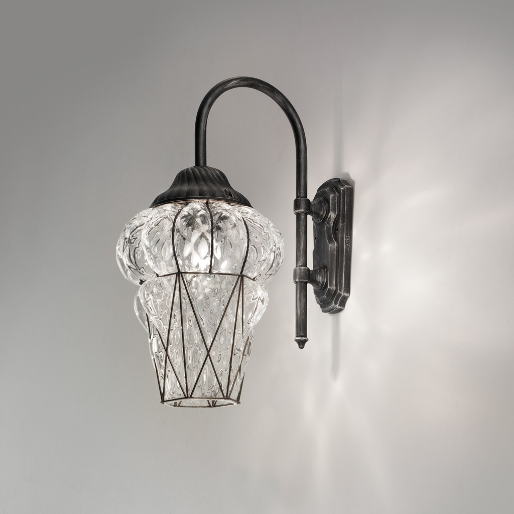 Signi Di Cristallo Old Murano outdoor lantern