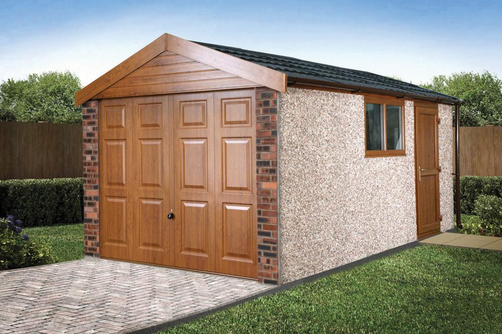 Apex20 Brick Posts garage