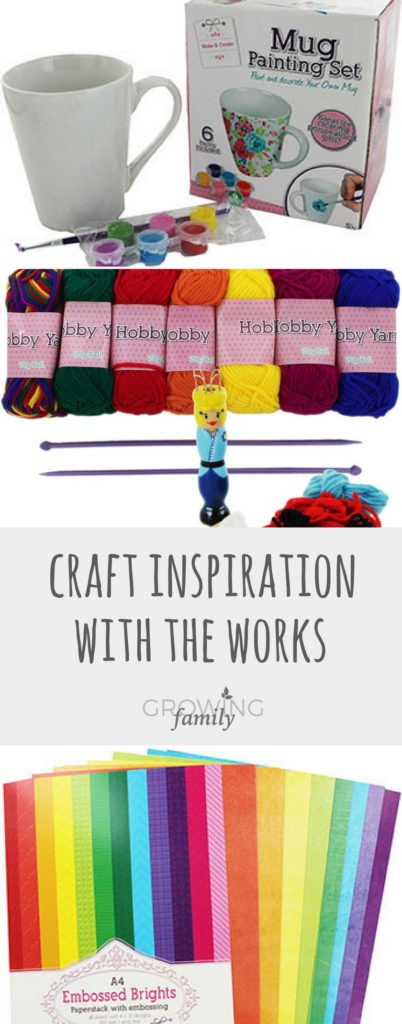 Looking for craft inspiration? Check out these top picks from the range of craft supplies available at The Works, perfect for keeping kids busy!