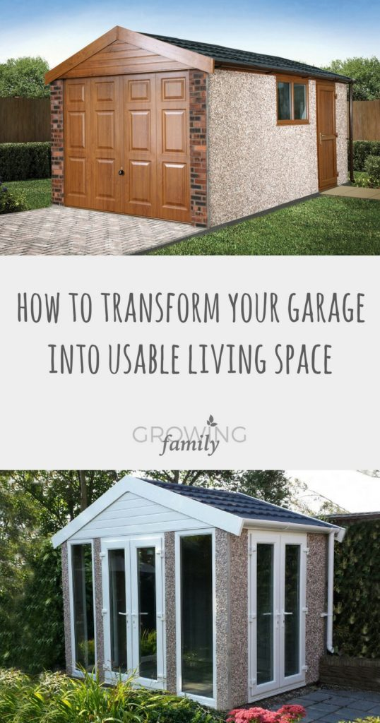 Is your garage in need of a re-think? Check out these clever ideas for turning your old garage into a brand-new living space for you and your family.