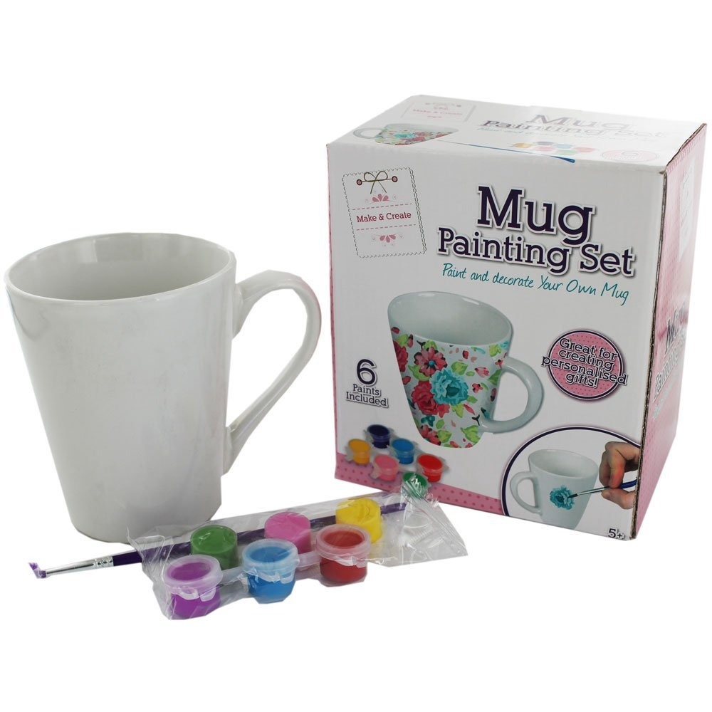 The Works Mug Painting Set