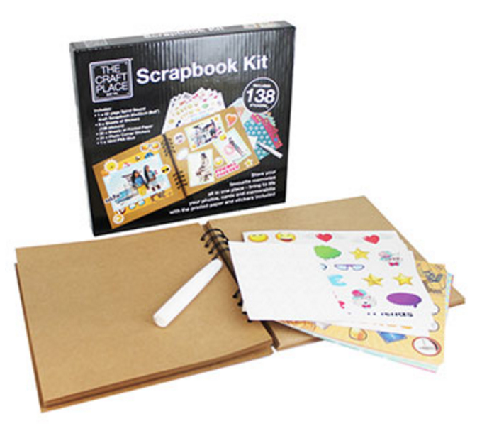 The Works Decorate Your Own Scrapbook Kit