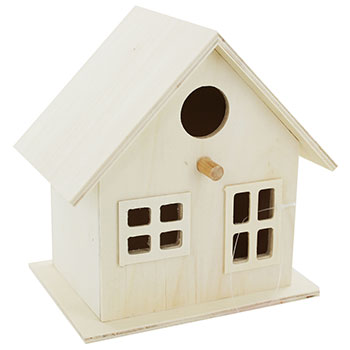 The Works Wooden Birdhouse