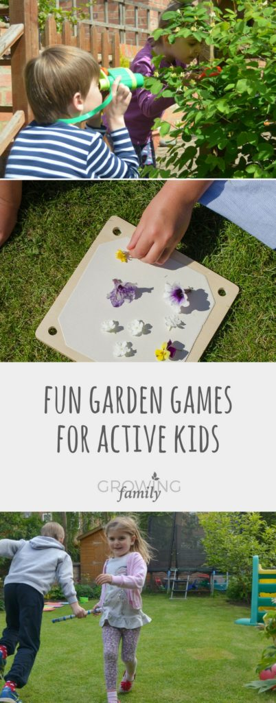 Lots of fun, inexpensive and easy ideas for garden games that the whole family can play. Keep the kids busy and active this summer!