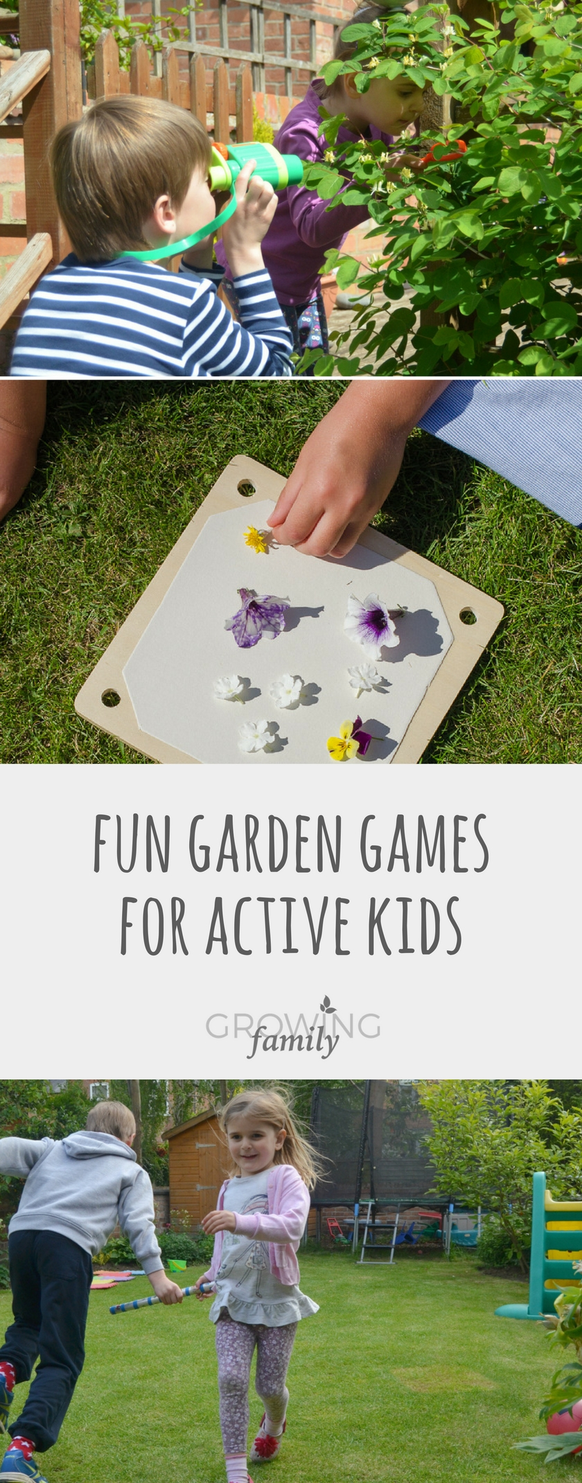 Fun garden games to get kids active growing family lots of fun inexpensive and easy ideas for garden games that the whole family can workwithnaturefo