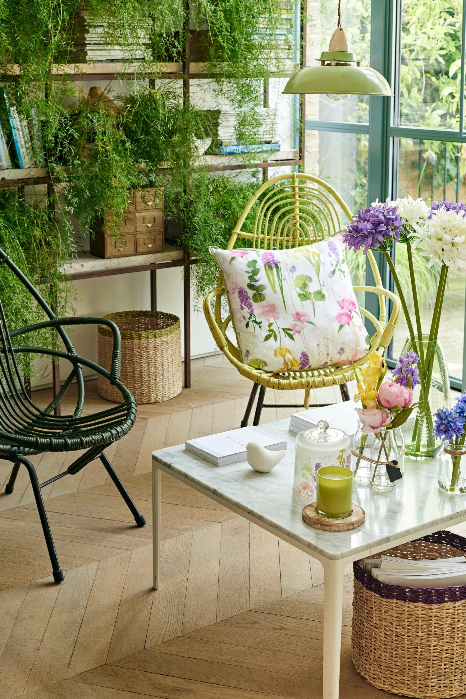 bringing the outdoors in sainsbury 39 s garden room range. Black Bedroom Furniture Sets. Home Design Ideas