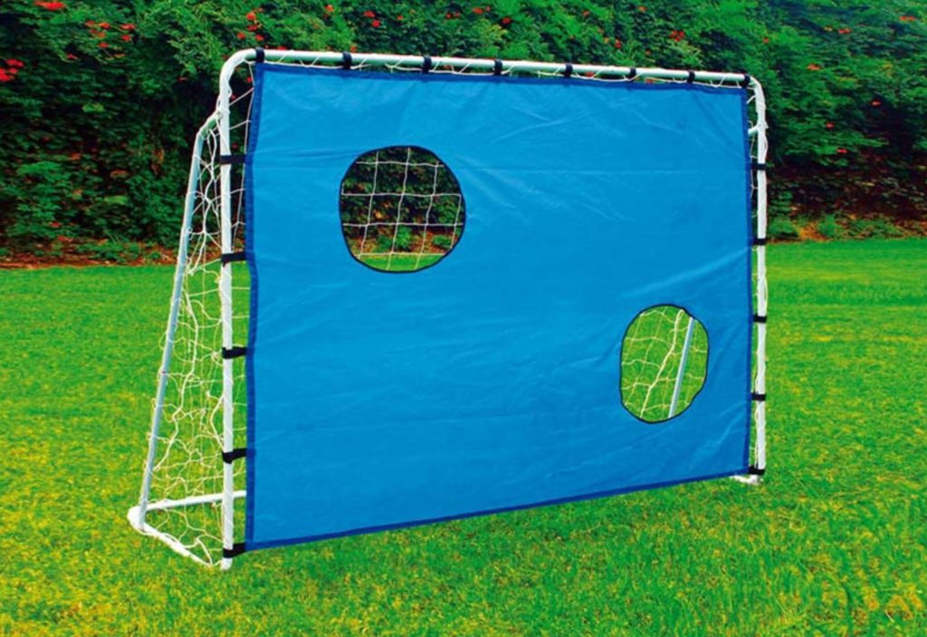 goal and shooting wall