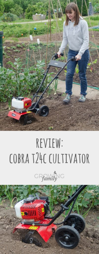 "Reviewing the new Cobra T24C 10"" Petrol Cultivator. This cordless, lightweight model claims to take the hassle out of digging - check out how it performed!"