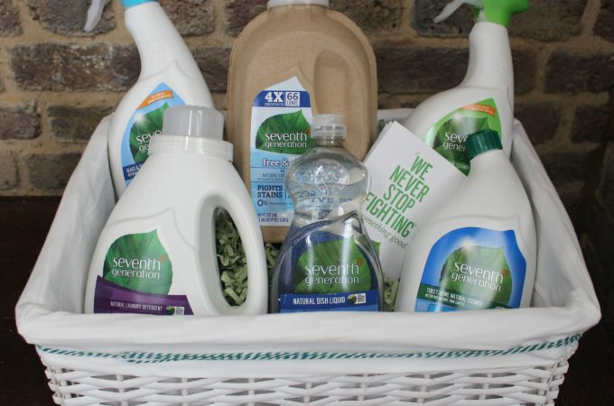 Eco-friendly cleaning with Seventh Generation plus giveaway