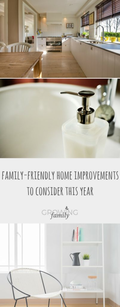 Need to make your home more family-friendly? Check out these ideas for home improvements that get your space working harder for the whole family!