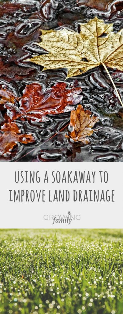 If your garden suffers from waterlogging, a soakaway could be the solution. Check out this simple guide to using soakaways to improve land drainage.