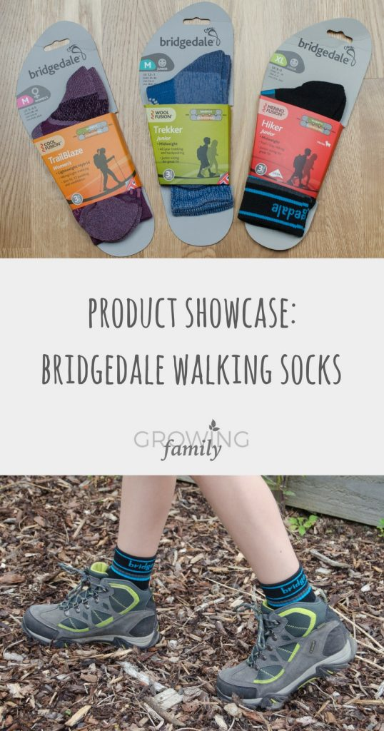 Exploring the Bridgedale range of high performance walking socks, plus a chance to win a family bundle of socks from the range.