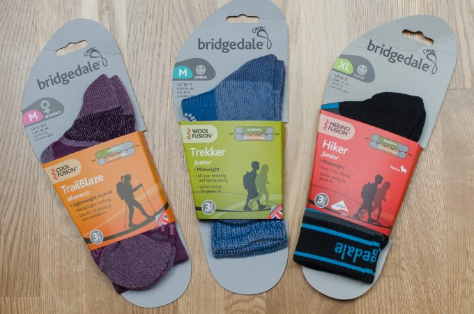 Product Showcase & Giveaway: Bridgedale walking socks