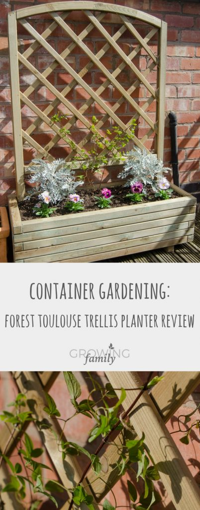 Looking for a garden trellis planter? Check out this review of the Forest Toulouse trellis planter, a solid wooden option with built in plant support.