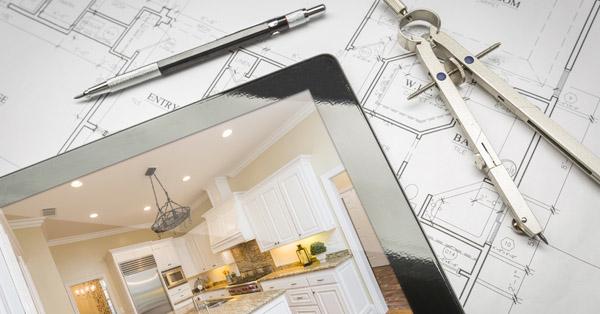 home improvement - designing a new kitchen