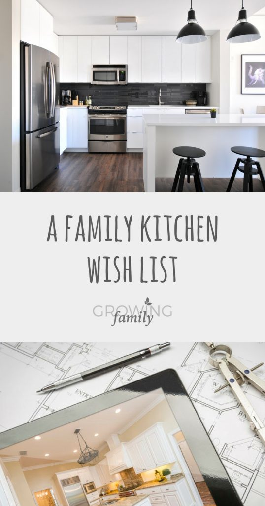 Planning a family kitchen project? Check out my family kitchen wish list for lots of ideas and inspiration!