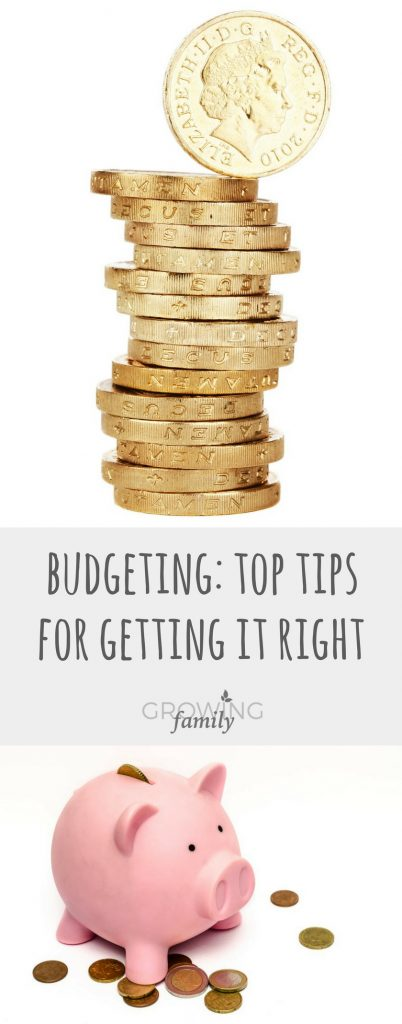 Want to get in the habit of managing your finances? These top budgeting tips will help you save money, plan your spending and stay in control!