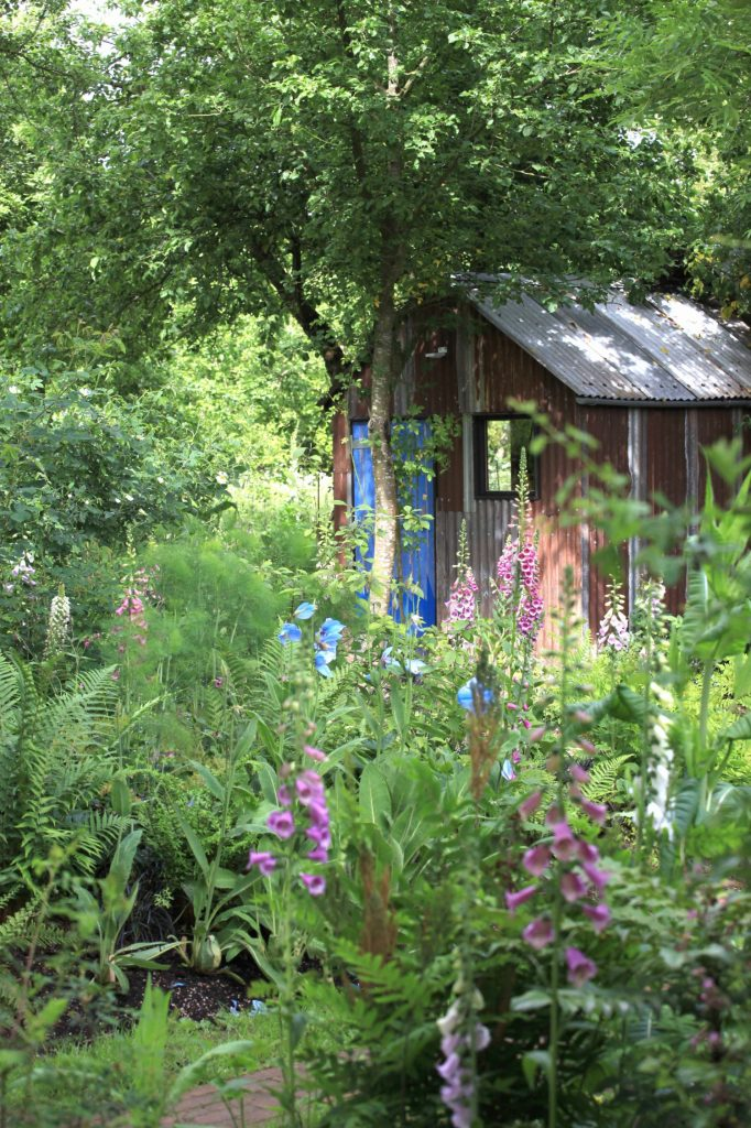 Monty Don's garden from his book Down to Earth
