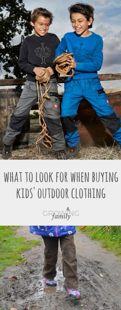 Looking to buy some new outdoor clothing for the kids this season? Check out my list of ideal features you should tick off before heading to the checkout.