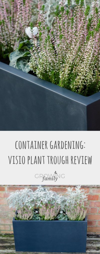 Reviewing the Planters Online Visio fibreglass plant trough - a premium, sleek planter ideal for container gardening and a contemporary garden style.
