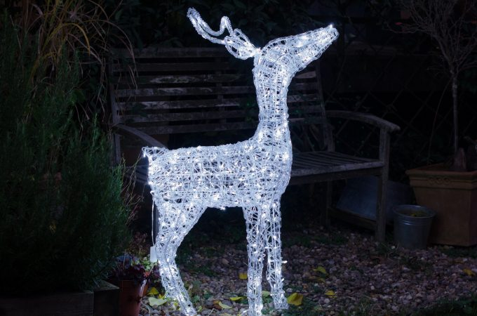 Review & Giveaway: GardenSite LED Christmas Reindeer