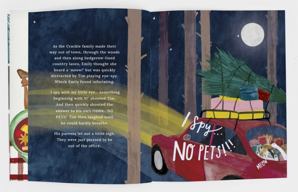 """The festive storybook """"A Christmas Tale"""" from Joules - a great stocking filler for little ones, with 100% of profits going to Charitably Joules."""